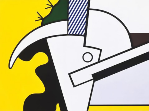 Roy-Lichtenstein_Bull-Head-II_1973