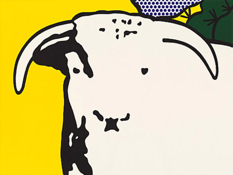 Roy-Lichtenstein_Bull-Head-I_1973