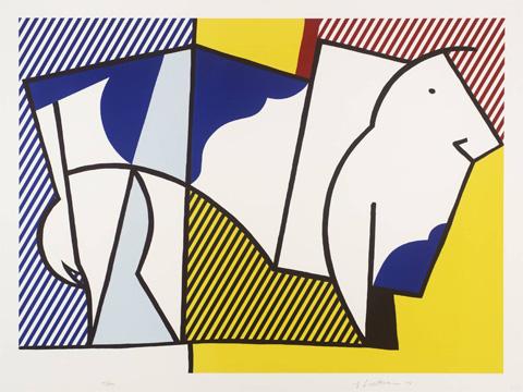 Roy-Lichtenstein_Bull-III_1973