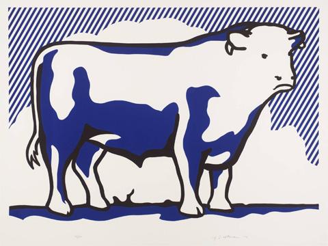 Roy-Lichtenstein_Bull-II_1973