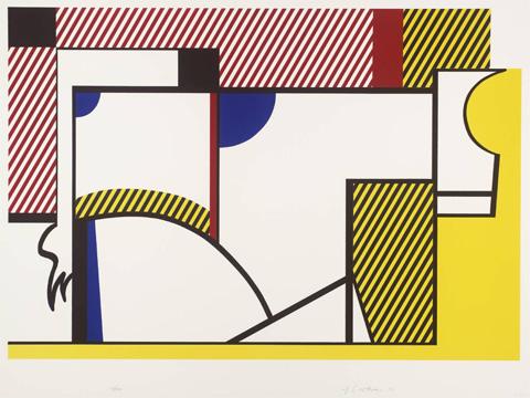 Roy-Lichtenstein_Bull-IV_1973