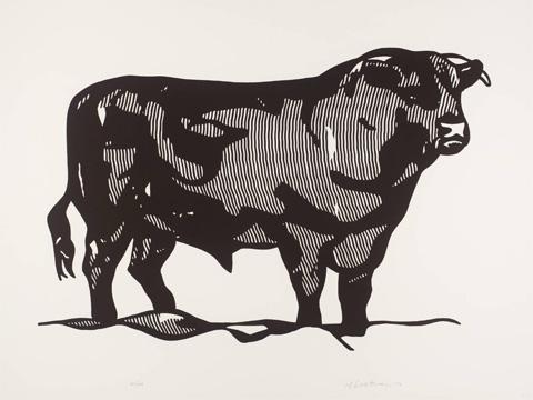 Roy-Lichtenstein_Bull-I_1973