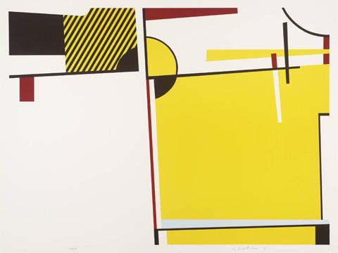 Roy-Lichtenstein_Bull-VI_1973