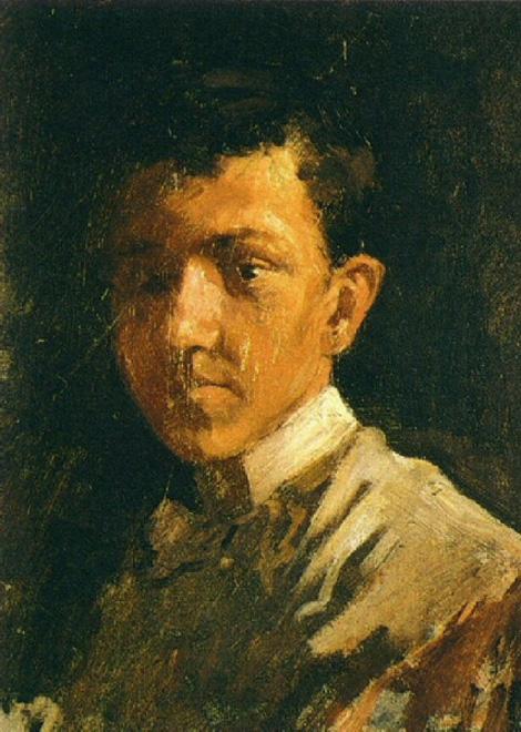 Pablo Picasso  Autoportrait aux cheveux courts 1896