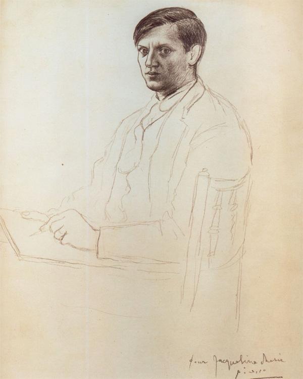 Пабло Пикассо Автопортрет 1917