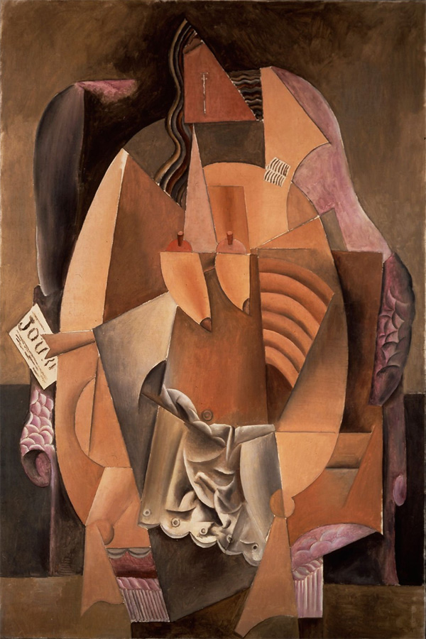 Пабло Пикассо Женщина в сорочке, сидящая в кресле