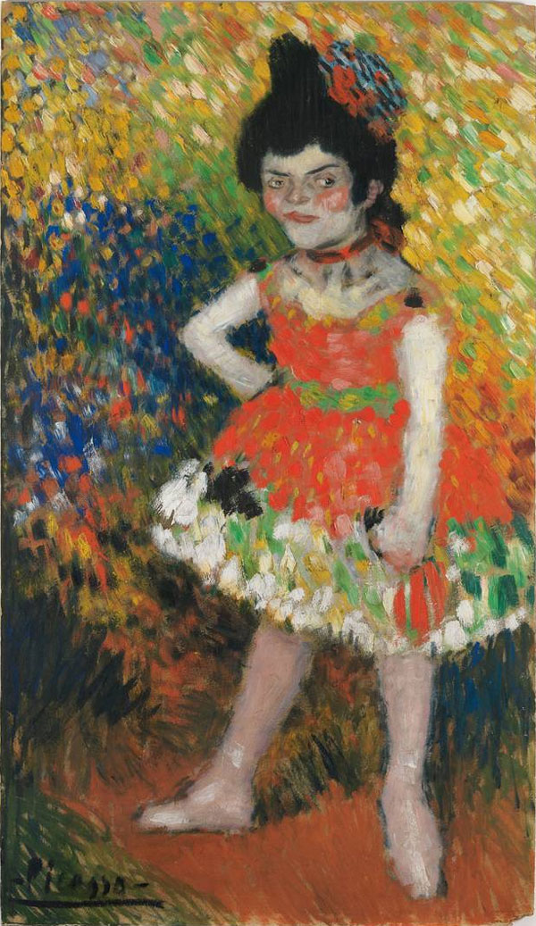 Картина Пабло Пикассо. Нана. 1901