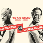Picasso vs Duchamp