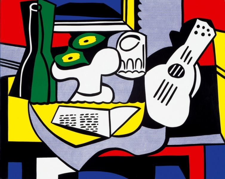 Roy Lichtenstein, Still life after Picasso, 1964