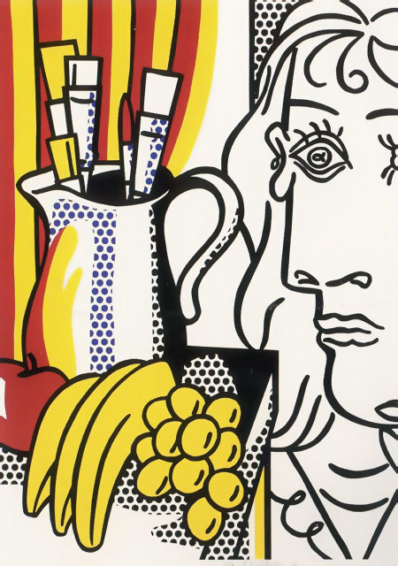 Roy-Lichtenstein_still-life-after-picasso_1964