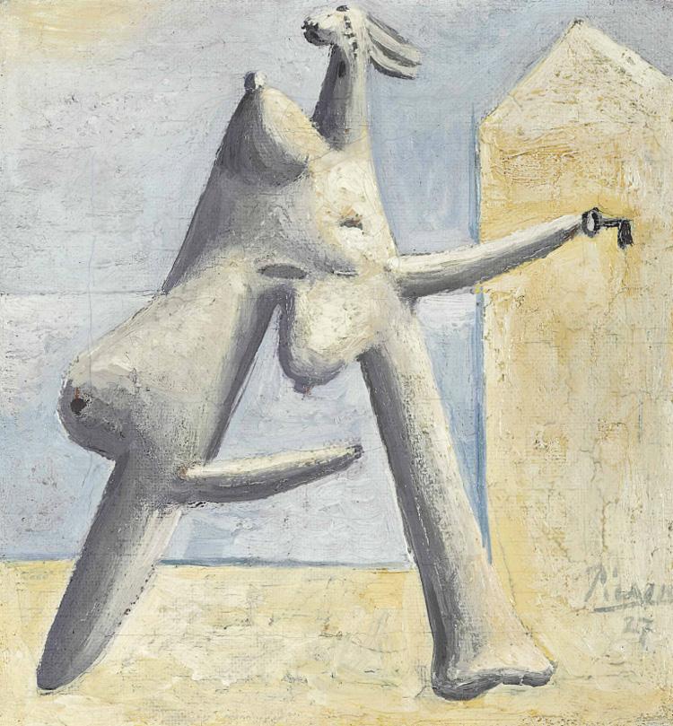 Картина Пабло Пикассо. Композиция (Женская фигура на пляже). 1927 ($1,4 млн)