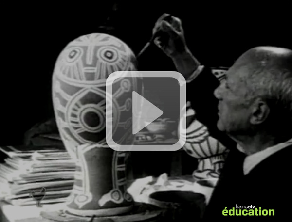 Pablo-Picasso_Exposition-retrospective-de-1966_video