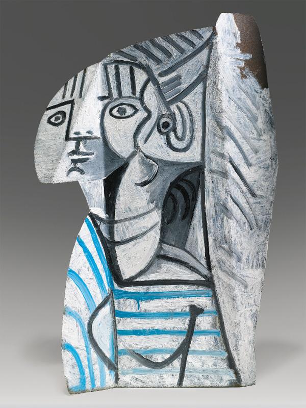 Картина Пабло Пикассо. Скульптура Сильветт (1), раскрашенный металл. 1954 ($13,6 млн)