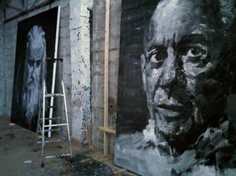 Yan-Pei-Ming_Portrait-de-Picasso