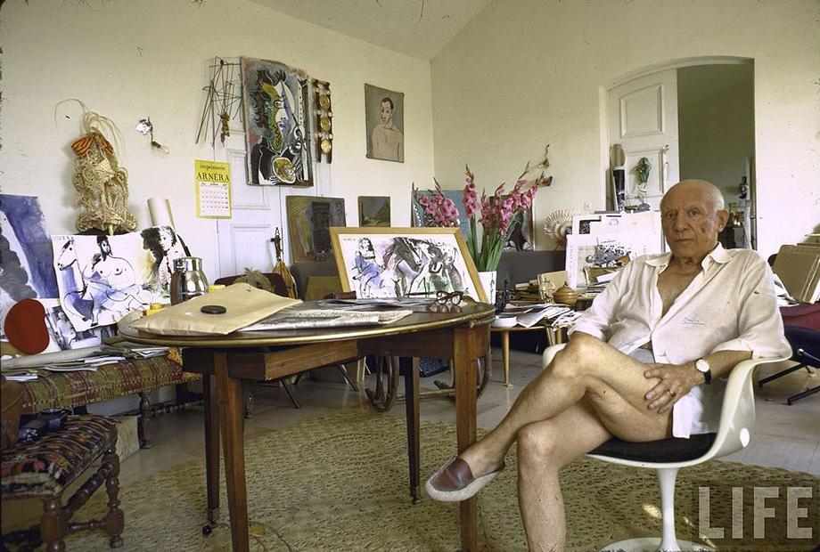 4_Gjon-Mili_Pablo-Picasso-Notre-Dame-de-Vie-Mougins-France-1967