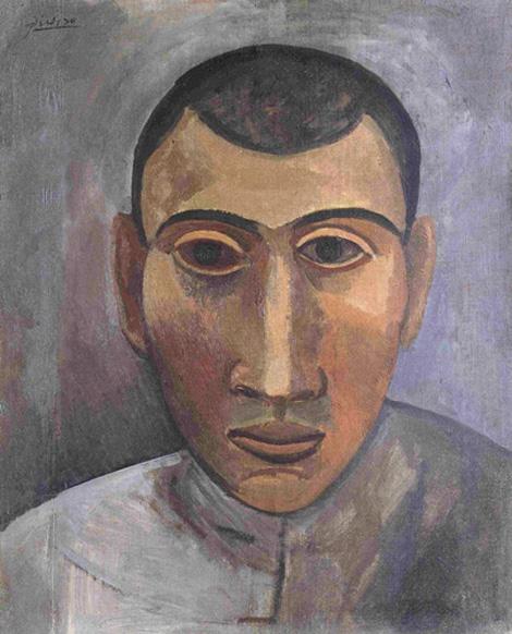 Картина Пабло Пикассо. Автопорторет. 1907