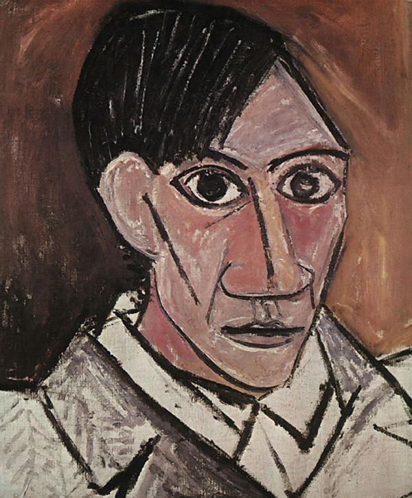 Пабло Пикассо. Автопортрет. 1907