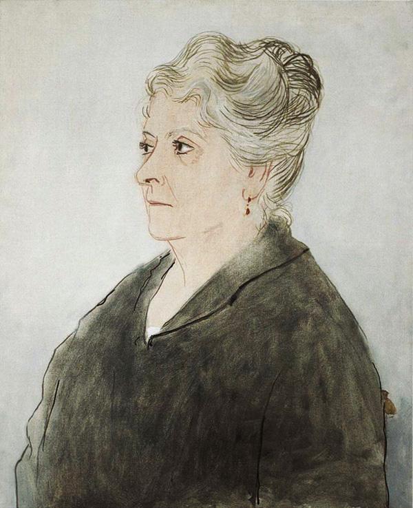 Картина Пабло Пикассо. Портрет Марии Пикассо Лопес. 1923