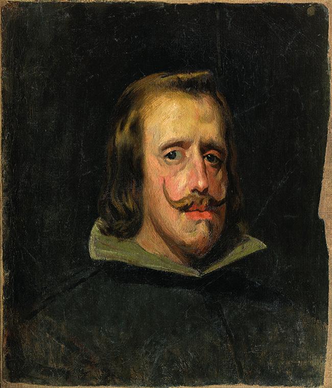 Картина Пабло Пикассо.  Копия портрета Филиппа IV. 1898