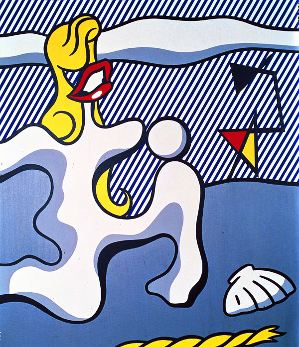 Roy-Lichtenstein_Female-Figure-on-Beach_1977