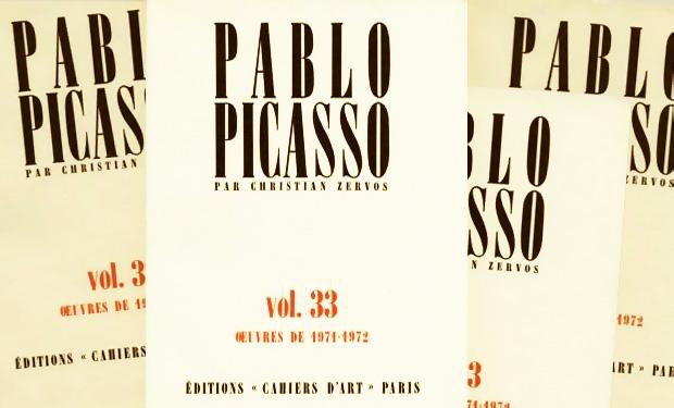Зервос - 33 тома каталога работ Пабло Пикассо