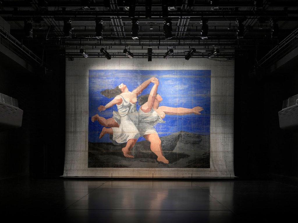 Пабло Пикассо, Задник к Голубому экспрессу, 1924