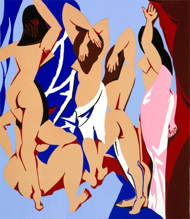 Авиньонские девицы, вид сзади, 1999