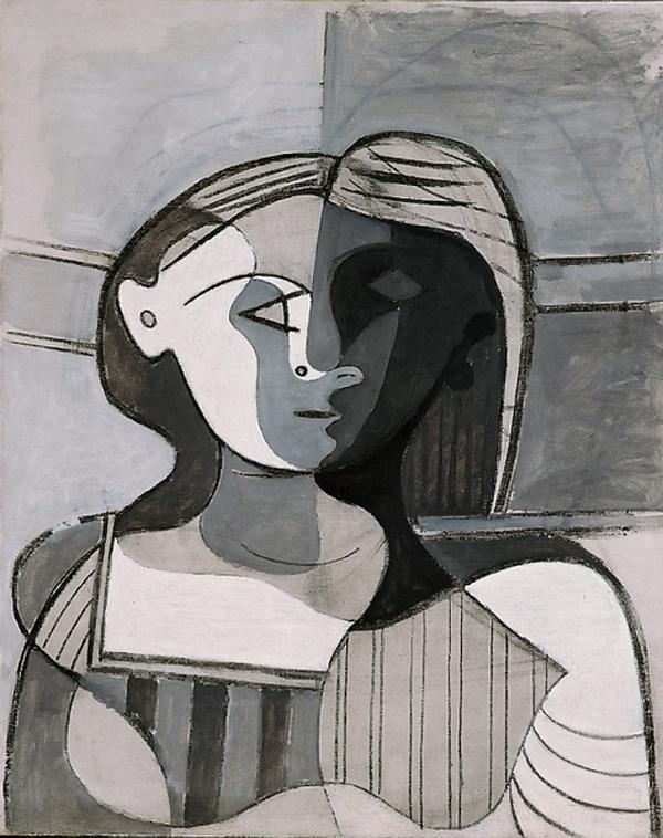 Картина Пабло Пикассо. Бюст женщины. 1926