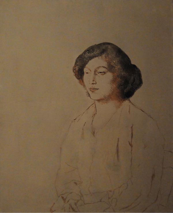 Картина Пабло Пикассо. Портрет Фернанды Оливье. 1906