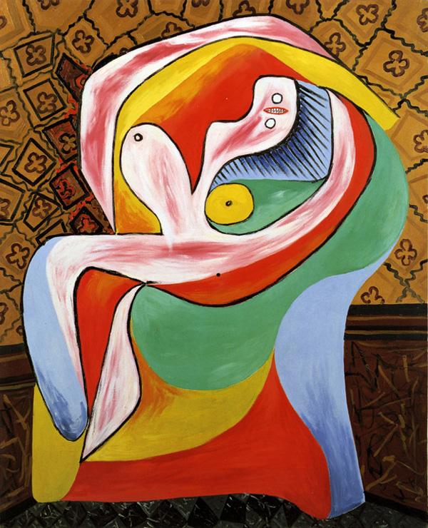 Картина Пабло Пикассо. Отдых. 1932 ($34,7 млн)