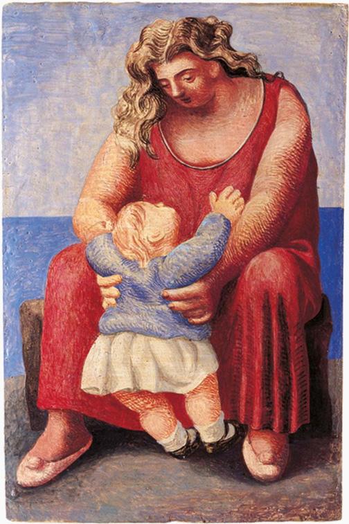 Картина Пабло Пикассо. Мать и дитя 5. 1921
