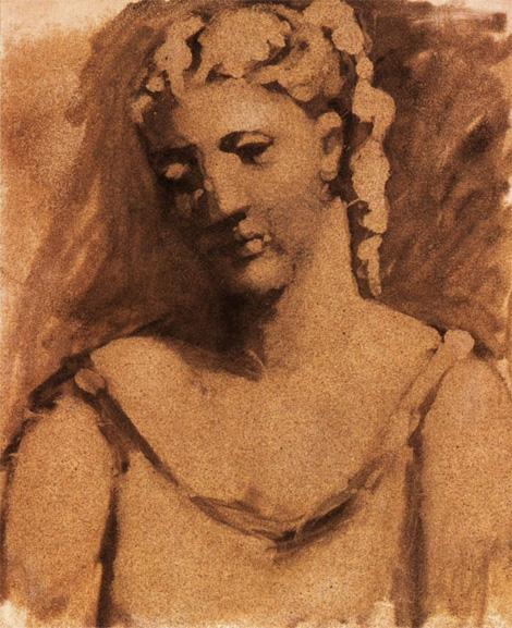 Картина Пабло Пикассо. Бюст женщины (Сара Мерфи). 1923
