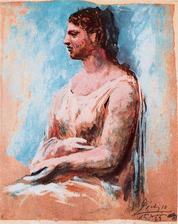 Картина Пабло Пикассо. Сидящая женщина (Сара Мерфи). 1923