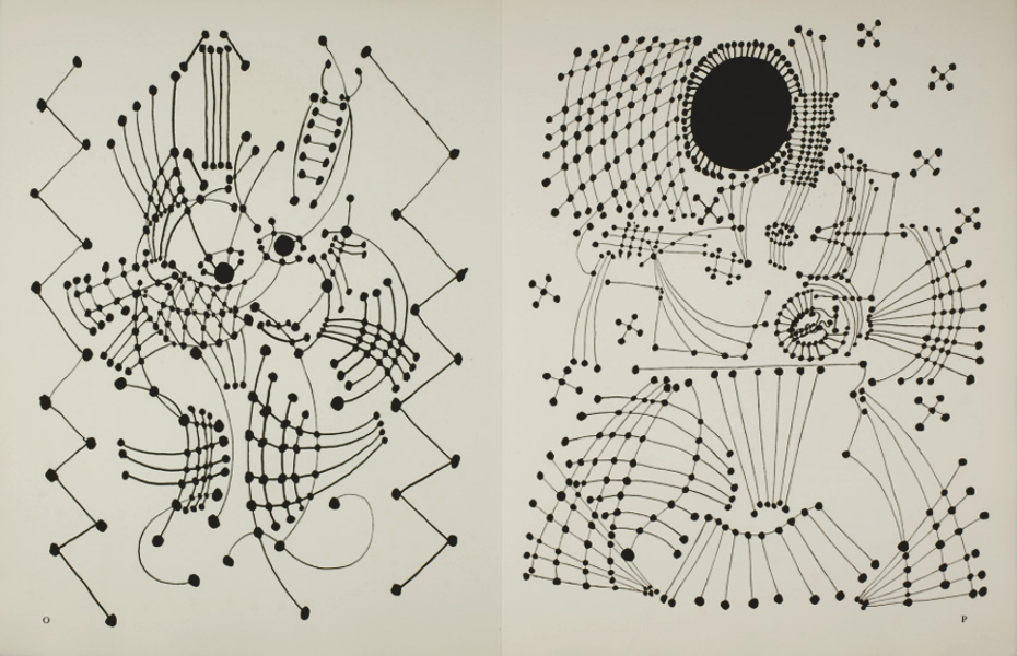 Рисунок Пикассо 1924 - иллюстрации Неведомому шедевру Бальзака