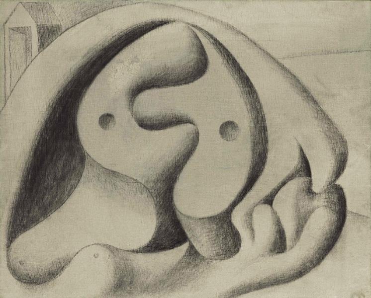 Картина Пабло Пикассо. Купальщица на пляже. 1931 ($4,6 млн)