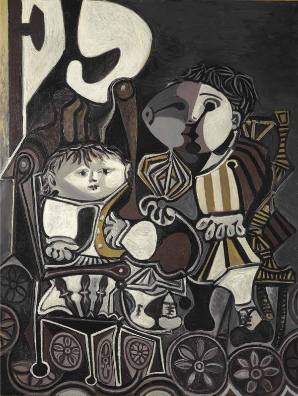 Пабло Пикассо Клод и Палома