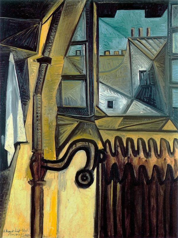 Картина Пабло Пикассо. Мастерская художника. 1943