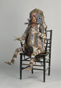 Монстр, чучело, подаренное Пикассо Матиссом в 50-е годы