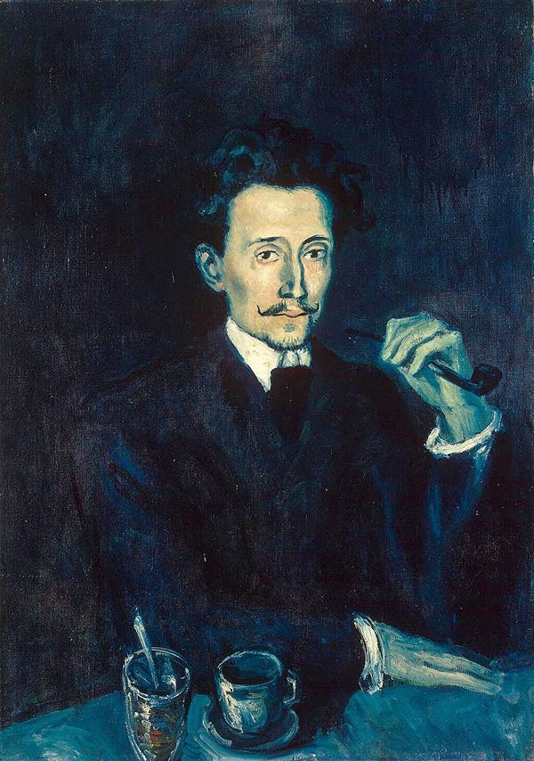 Картина Пабло Пикассо. Портрет Солера. 1903