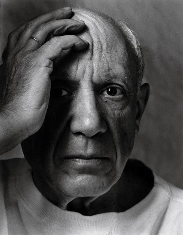 Пабло Пикассо, Валлорис, 1954. Фото — Арнольд Ньюман