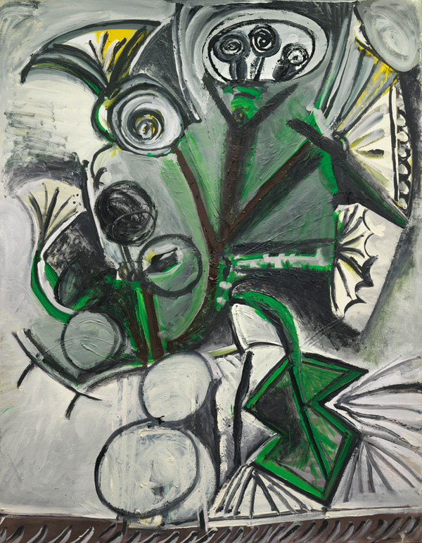 Картина Пабло Пикассо. Букет. 1969 ($3,86 млн)