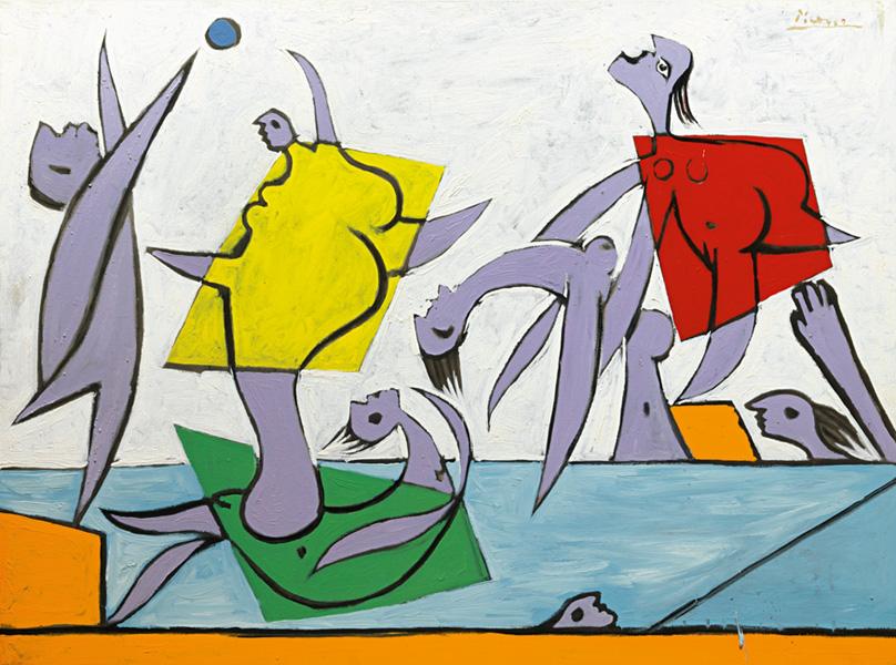 Картина Пабло Пикассо. Спасение. 1932 ($31,52 млн)