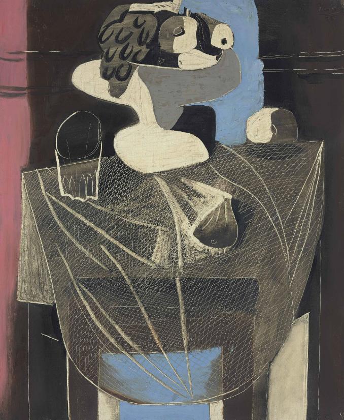 Картина Пабло Пикассо. Натюрморт с рыболовной сетью. 1925 ($9,01 млн)
