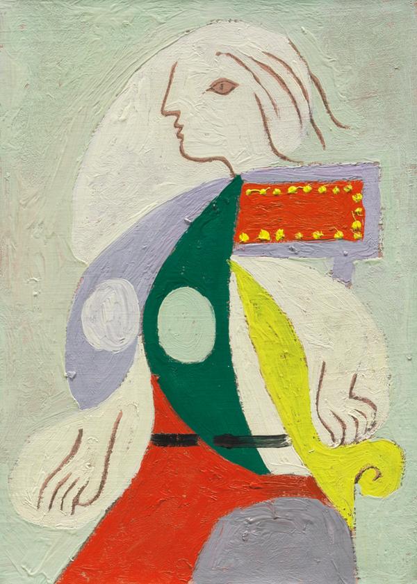 Картина Пабло Пикассо. Портрет Марии-Терезы. 1932 ($4,87 млн)