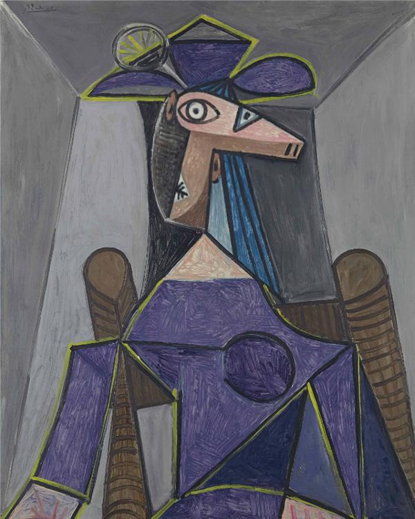 Картина Пабло Пикассо. Портрет женщины (Дора Маар). 1942 ($22,57 млн)