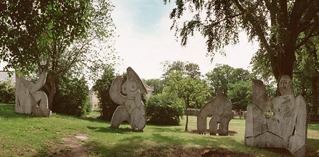 After-Picasso_Dejeuner-sur-l-herbe_1962_Carl-Nesjar_Moderna-Museet_Stockholm-Sweden