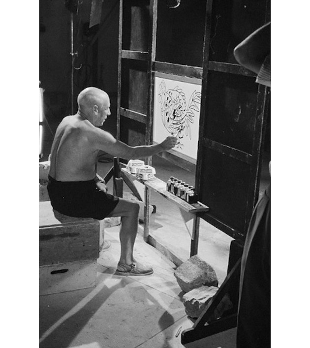 Мистерия Пикассо, фильм Анри Клузо, фото Эдварда Куинна
