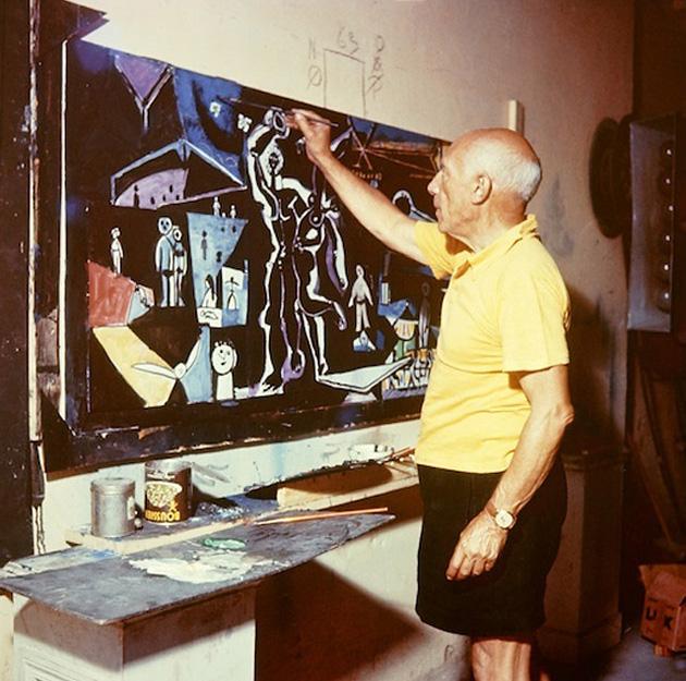 Эдвард куинн Мистерия Пикассо фильм Клузо Канны 1955