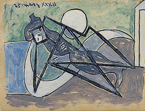 Pablo-Picasso_Femme-etendue-sur-la-plage_1932_1_25.03.1932