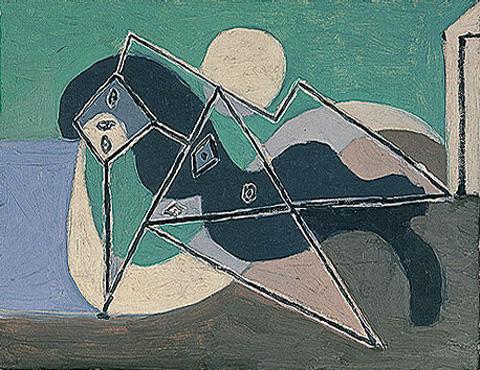 Pablo-Picasso_Femme-etendue-sur-la-plage_1932_3_26.03.1932